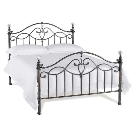 Catalina Shiny Black Bedstead