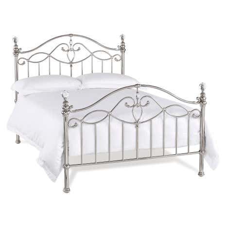 Catalina Shiny Nickel Bedstead