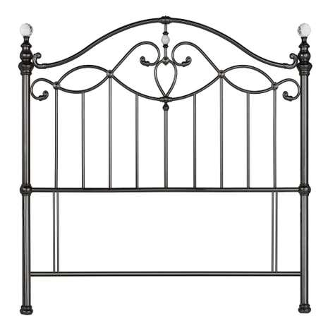 Catalina Shiny Black Headboard