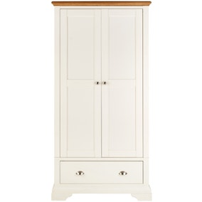 Eaton Cream Double Wardrobe