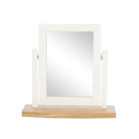 Eaton Cream Vanity Mirror