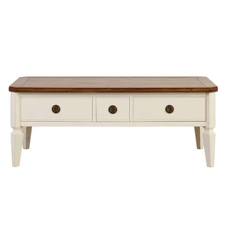 Madeline Cream Coffee Table