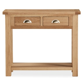 Oakley Oak Console Table