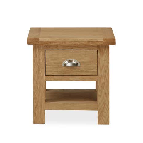 Oakley Oak Lamp Table