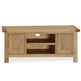 Oakley Oak Wide TV Stand
