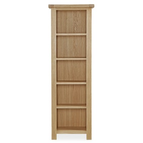 Oakley Oak Slim Bookcase