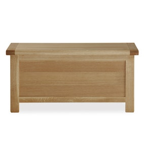 Oakley Oak Storage Box
