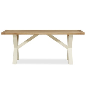 Wilby Cream Dining Table