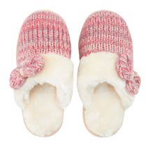 Pair of Knitted Mule Slippers