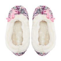 Pair of Knitted Ballerina Slippers