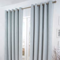 Duck Egg Verbier Thermal Eyelet Curtains