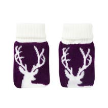 Pair of Knitted Stag Hand Warmers