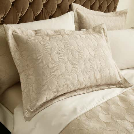 Venetia Natural Oxford Pillow Sham