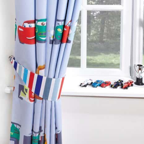 Nice Disney Cars Blackout Pencil Pleat Curtains