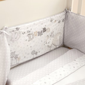 Disney Dumbo Nursery Coverlet and Bumper
