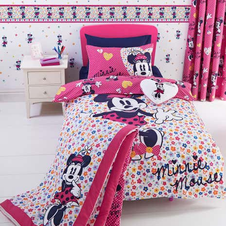 Disney Minnie Mouse Duvet Cover Set