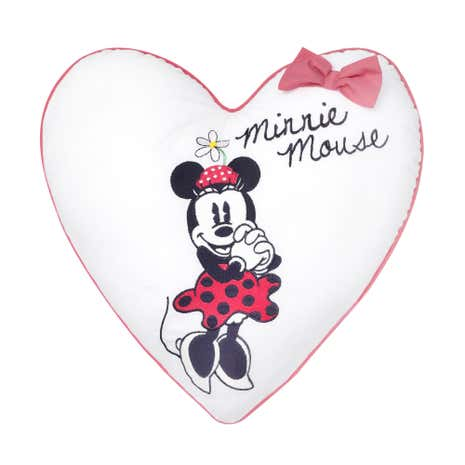 Disney Minnie Mouse Heart Cushion