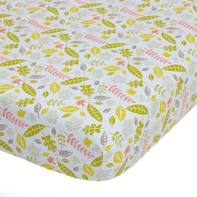 Disney Winnie the Pooh Natural Nursery Pair of Cot Bed Fitted Sheets