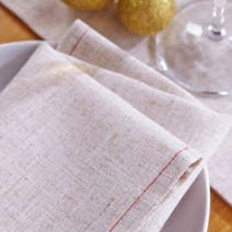 Rustic Robin Pack of 4 Napkins