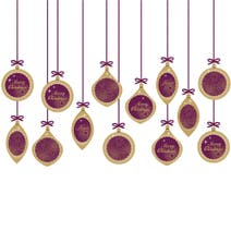 Baubles Wall Sticker