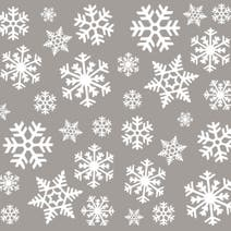 Snowflake Window Sticker
