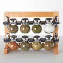 Olde Thompson 8 Jar Spice Rack