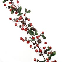 Berry and Leaf Garland