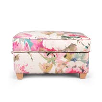 Floral Bloom Porter Footstool