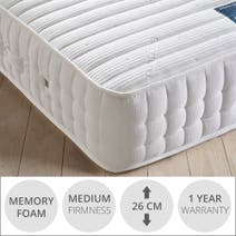 Hastings 1200 Pocket Memory Mattress