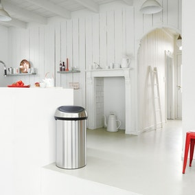 White Kitchen Bin kitchen bins | kitchen bin bags and liners | dunelm