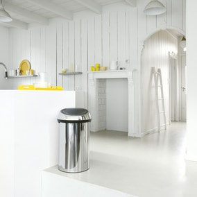 Brabantia Brilliant Steel 60 Litre Touch Bin