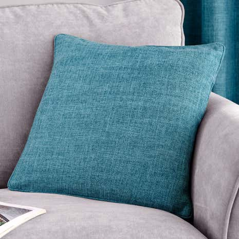 Teal Vermont Filled Cushion