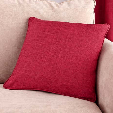 Vermont Red Filled Cushion