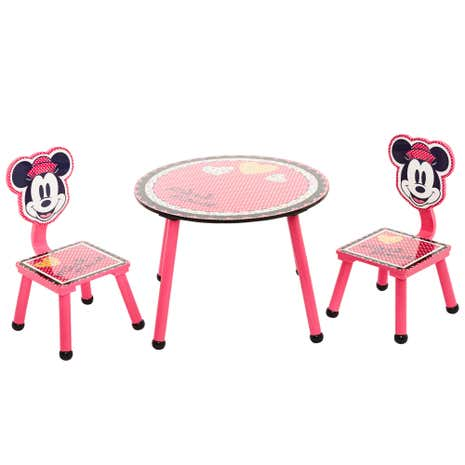 Disney Minnie Mouse Play Table and Chairs