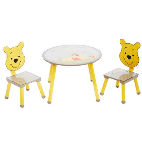 Disney winnie the pooh play table and chairs dunelm