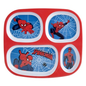 Marvel Spiderman Melamine Lunch Tray