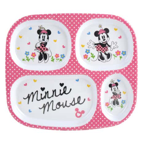 Disney Minnie Mouse Melamine Lunch Tray