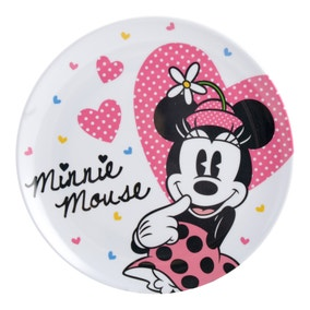 Disney Minnie Mouse Melamine Plate