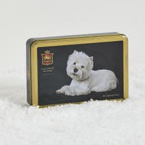 Stewarts Westie Dog Gift Tin With Shortbread Rounds