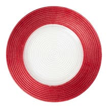 Red Spectrum Charger Plate