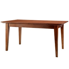 Brooklyn Dark Wood Large Extending Dining Table