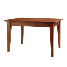Brooklyn Dark Wood Small Extending Dining Table