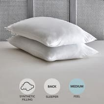 Rebounce Medium-Support Pillow Pair