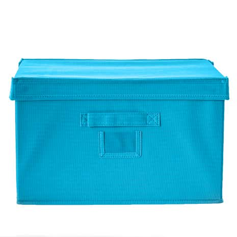 Spring Green Teal Storage Box