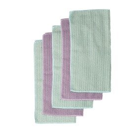 Pack of 5 Microfibre Cloths