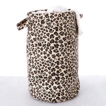 Leopard Print Laundry Bag