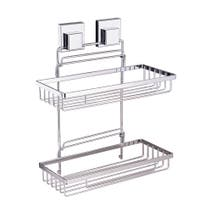 Smartloc 2 Tier Rectangle Bath Rack