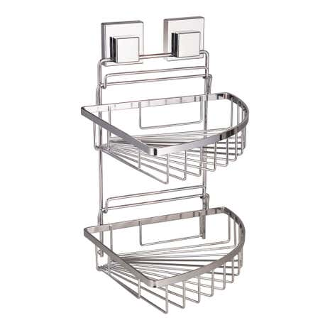 Smartloc 2 Tier Corner Bath Rack