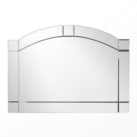 Bevelled Mantel Mirror
