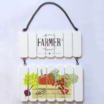 Country Fayre Hanging Plaque
